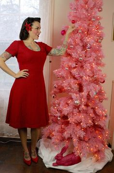 Gertie's New Blog for Better Sewing: A Pink Christmas