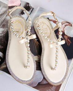 Chili Mango Sandalen Tie Up Gladiator Sandalen Boho Sandalen Damen Sandalen Us Size: Wedding Sandals For Bride, Beach Wedding Shoes, Bridal Sandals, Bride Shoes, Outdoor Wedding Shoes, Pearl Sandals, Bridal Flip Flops, Sport Sandals
