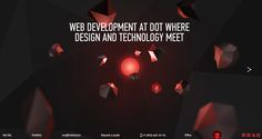 Hot Dot Production featured in 10 Best Portfolio Websites of July - http://www.obeymagazine.com/10-best-portfolio-websites-july/ #webdesign #portfolio #ux