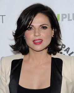 Lana Parrilla Hair...for when I'm older n wanna chop it all off!