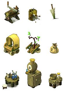 Wakfu MMORPG - background isometric pictos (1)  ★ || CHARACTER DESIGN REFERENCES (https://www.facebook.com/CharacterDesignReferences & https://www.pinterest.com/characterdesigh) • Love Character Design? Join the Character Design Challenge (link→ https://www.facebook.com/groups/CharacterDesignChallenge) Share your unique vision of a theme, promote your art in a community of over 25.000 artists! || ★