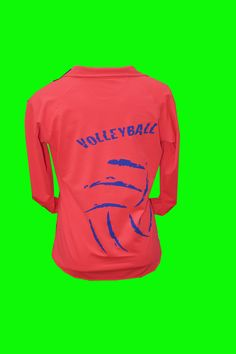 This female cut, hot coral fleece lined performance top is great for staying warm in the gym or for an outdoor workout. Extra stretchy, fleece lined, and features sport moisture wicking technology.