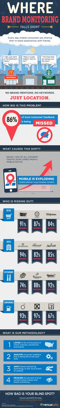 Local Consumer Blind Spot Infographic