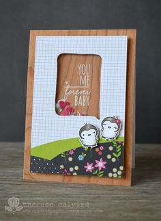 Lostinpaper - Mama Elephant - Love Quotes You & Me card