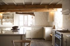 This is the beautiful Real Shaker Kitchen showroom at deVOL's beautiful Cotes Mill premises.