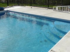 Ordinaire Custom Pool Steps Will Give You The WOW Factor You Are Looking For In You  Pool. There Is No Limit To Size Or Shape When It Comes To A Vinyl Liner  Covered ...