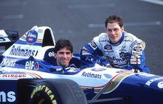 Jacques Villeneuve and Damon Hill.