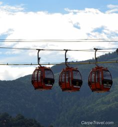 The top three things to do in Glenwood Springs, Colorado. The gondola ride up to the Glenwood Caverns Adventure Park starts things off right!