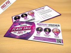 Download Fashion Sale Discount Voucher Free PSD. This Fashion Sale Discount Voucher Free PSD to promote your Fashion sales, shopping discounts or any kinds of Business Use like Shopping Mall, Elect...