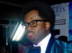 The star actor and director has gone from dreads to Afro. He debuted the  new look at the Weekend Getaway movie premiere in Lagos on Friday. You  like?