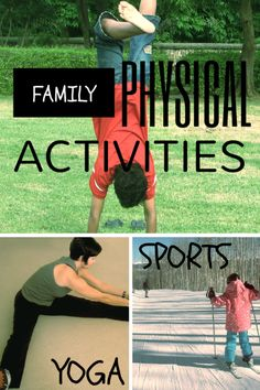 As a family, physical activity can add time together and benefit our health, physically and emotionally.