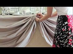 D.I.Y. Head Table Scallop - YouTube