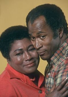 James and Florida Evans:  Their love was solid as a rock.   Through; ups & downs, thick & thin, good & bad,  this marriage was for keeps.