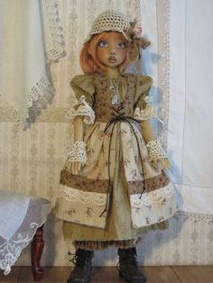 "Shabby Chic gypsy set handmade for,Kaye Wiggs,Layla,Hope,18"",45CM BJD by JEC"
