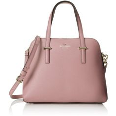 kate spade new york Cedar Street Maise Satchel ($179) ❤ liked on Polyvore featuring bags, handbags, kate spade purses, kate spade bags, kate spade handbag, kate spade and satchel hand bags