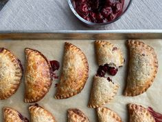 Hand Pies Recipe Filled with Sour Cherries   Saveur