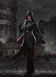 Evie Frye the Victorian Assassin by santap555.deviantart.com on @DeviantArt