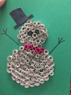 #Snowman #ChristmasCraft