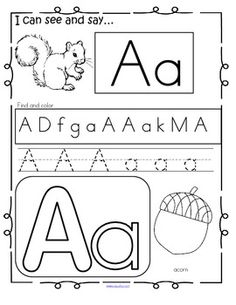 Fall-themed collection of activity pages reviewing the upper and lower letters of the alphabet, 28 pages.
