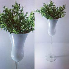 vaso Castiçal branco