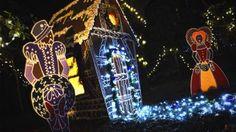 Visit WinterLights at the Elizabethan Gardens to enjoy lights, floral delights, holiday sights and more. #visitnc