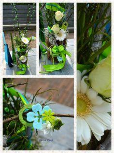 Bloemstuk, workshop voor de ALS-stichting #bloemen #Flowers | OrcaCool