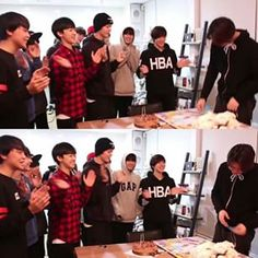 Johnny's birthday surprise by SMRookies with a mission hehe ^_^