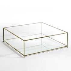 Most homes today will probably have a glass coffee table since it is extremely common. This type of coffee table tends to add elegance and style to any room. The type of glass that is used for the table top is smoked or a clear thick pane. Lift Up Coffee Table, Coffee Table Metal Frame, Reclaimed Wood Coffee Table, Large Coffee Tables, Brass Coffee Table, Glass Top Coffee Table, Coffee Table Design, Glass Table