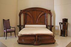 Art Nouveau bed  AMAZING!