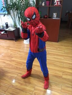 Character: Spider Man Movie For cm People. Avengers Birthday, Superhero Birthday Party, Halloween News, Halloween Cosplay, Boy Costumes, Cosplay Costumes, Boys Spiderman Costume, Hedgehog Birthday, Gabi