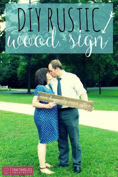 DIY+Rustic+Wood+Sign+from+GingerSnapCrafts.com+#DIY+#barnwood+#sign