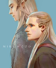 Elves of Mirkwood, Thranduil & Legolas Tauriel, Legolas And Thranduil, Gandalf, Lotr, O Hobbit, Hobbit Art, Into The West, An Unexpected Journey, Jrr Tolkien