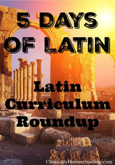 Let's face it. Finding a good Latin curriculum that's a good fit for your family and teaching style is hard. That's why I'm giving you a round up of various children's Latin curricula and their reviews.