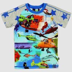 Stoer shirt met helikopters !