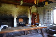 old world family rooms | Before you enter the castle there is a bakery out front that would ...