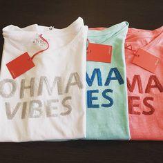 Camisetas ohma! Vibes, consigue la tuya en nuestra web: www.ohmabarcelona.com #ropaparaembarazadas #ropapremama #modaparaembarazadas #modapremama #embarazo #embarazada #pregnant #pregnancy #maternitywear #maternitywear #ohmabarcelona #ohmavibes