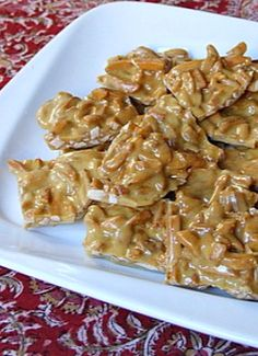 Easy Almond Brittle recipe