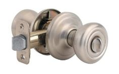 Kwikset 730CN Signature Series Cameron Privacy Door Knobset, Satin Nickel by Kwikset. $14.82. Kwikset Signature Series Cameron Privacy Door Knobset The classic lines and enhanced styling of the Cameron knob make it a great choice for many design intents. Includes Standard Round Corner Strike Plate Part Number 83796 (Strike Plate is on Door Jamb). For Square Corner Strike Plate See Product: Kwikset 83437. For a T-Strike Plate See: Kwikset 83028. Both knobs locked or un...