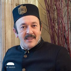 MO OF THE WEEK *** Mr. Cigdem, our hotel Portier finds no trouble in growing his…
