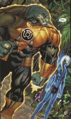 Arkillo, Saint Walker, Green Lantern & Star Sapphire | #comics