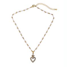 Cute Fashion Alloy Heart Necklaces & Pendants Beads Chain Simple Jewelry Women Accessories 2017 Minimalist