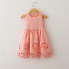 """""""PAISLEE"""" Pink Linen Dress"""
