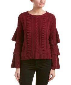 endless rose Endless Rose Ruffle Sleeve Sweater