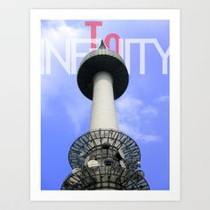 To Infinity Art Print by Leelly May - $16.00