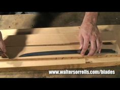 How to Make a Saya (Japanese Sword Scabbard) with Walter Sorrells