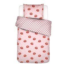 Bettwäsche Kiss My Sass Covers & Co Größe: 135 x 200 cm - 1 Kopfkissenbezug x 80 cm) Candy Colors, Kiss Me, Floor Chair, Pakistan, Duvet Covers, Pillow Cases, Colours, Design, Home Decor