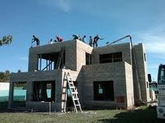 Cinder Block House, Flat Roof House, House Construction Plan, Mexico House, Concrete Architecture, Hawaii Homes, Concrete Houses, Hotel California, Surf Shack