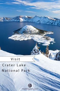 Crater Lake National Park is a wonder to see.
