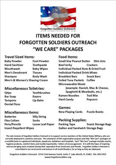 Please send care packages if you are able to, there are several soldiers unit that do not have any family. They would appreciate anything, even a simple card, to know someone is thinking about them and that their sacrifices are meaningful. Soldier Care Packages, Deployment Care Packages, Soldier Care Package Ideas, Military Care Packages, Adopt A Soldier, Military Deployment, Deployment Gifts, Army Life, Army Mom