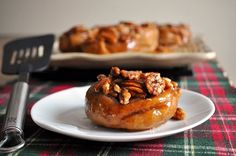 Rich delicious rum sticky buns...